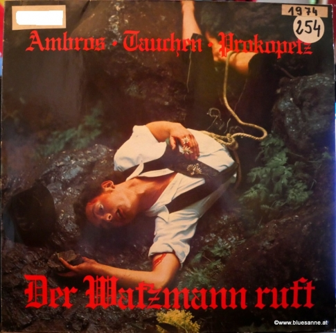 Ambros Tauchen Prokopetz Der Watzmann ruft 1974 LP