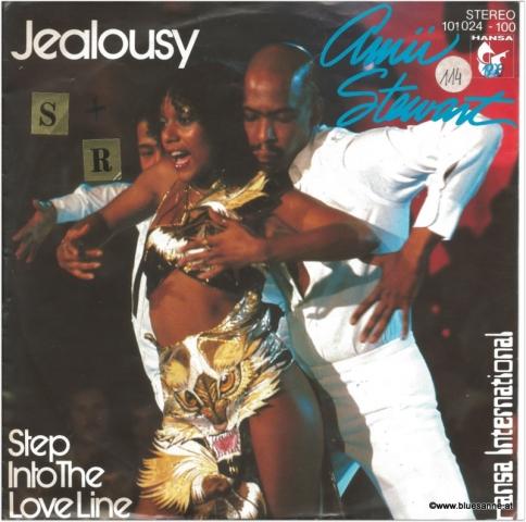 Amii Stewart Jealousy 1977 Single