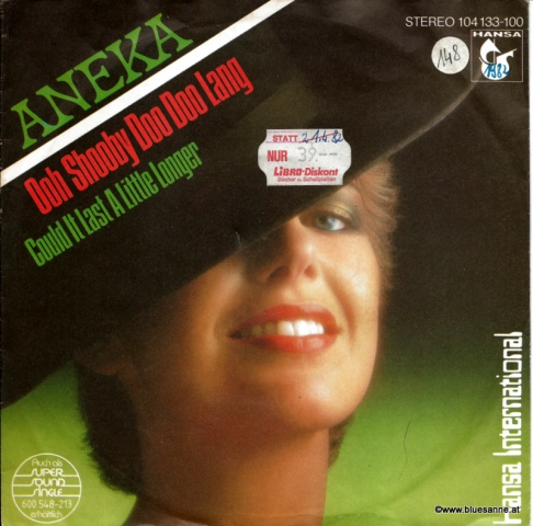 Aneka Ooh Shooby Doo Doo Lang 1982 Single