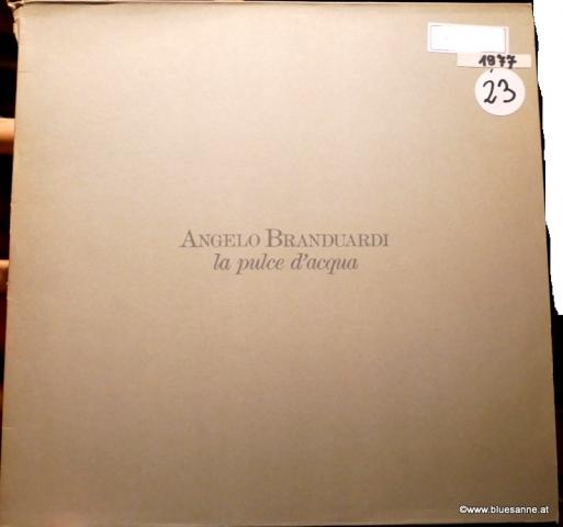 Angelo Branduardi La pulce d´aqua 1977 LP