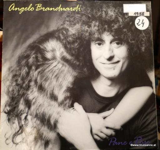 Angelo Branduardi Pane e Rose 1988 LP