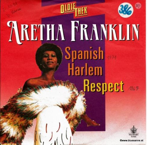 Aretha Franklin – Spanish Harlem Respect Single