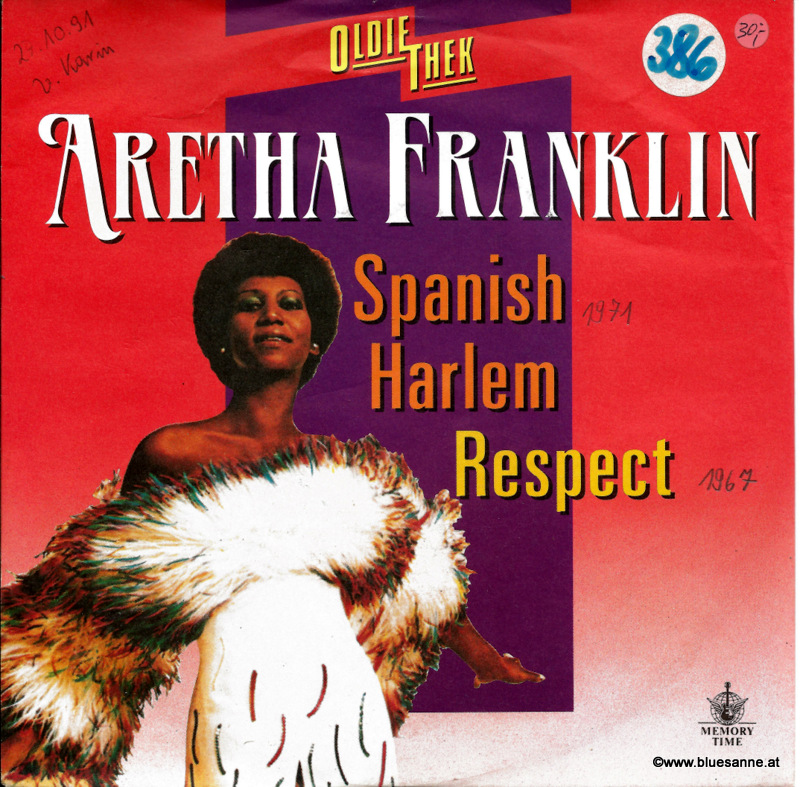 Aretha Franklin ‎– Spanish Harlem Respect Single