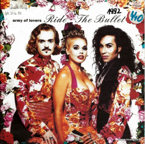 Army of Lovers Ride the Bullet 1992 Single