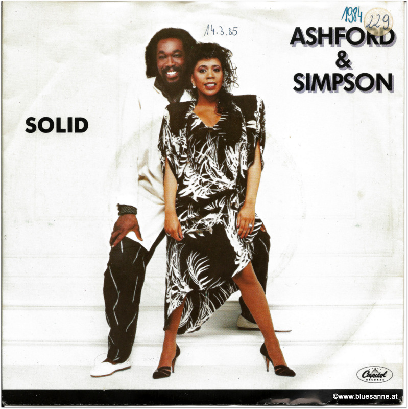 Ashford + Simpson Solid 1984 Single