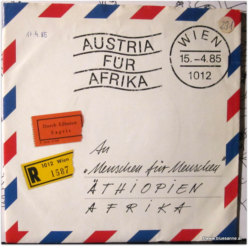 Austria für Afrika Single
