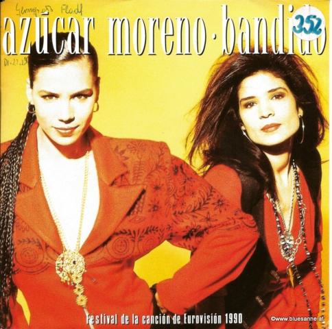 Azúcar Moreno  Bandido 1990 Single