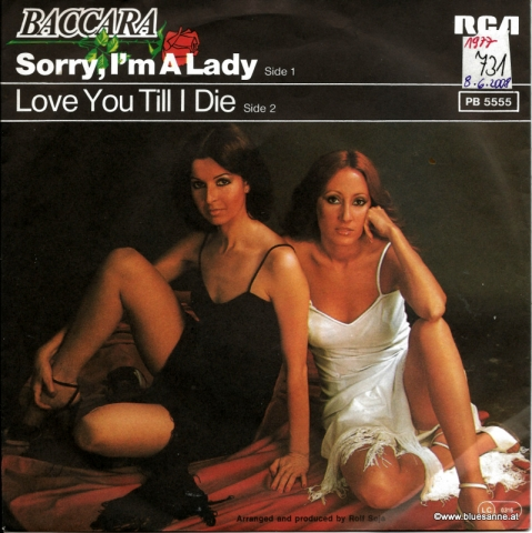 Baccara – Sorry, I;m A Lady 1977