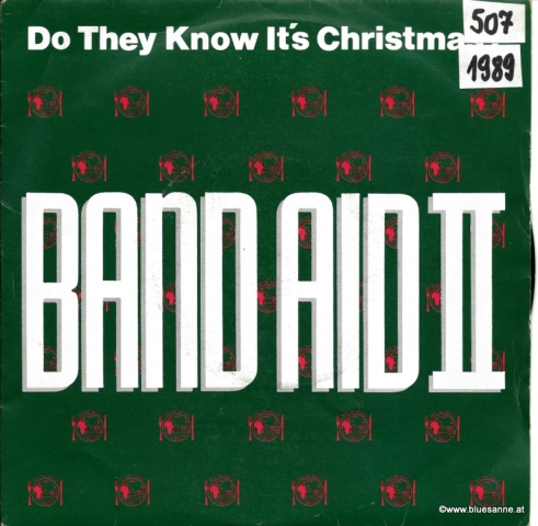 Band Aid II Do the know its Christmas 1989 Single