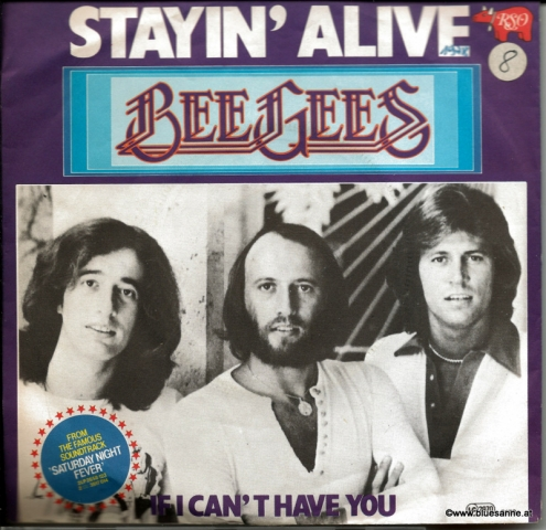 Bee Gees ‎– Stayin´Alive 1977 Single