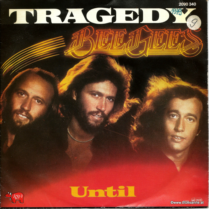 Bee Gees Tragedy 1979 Single