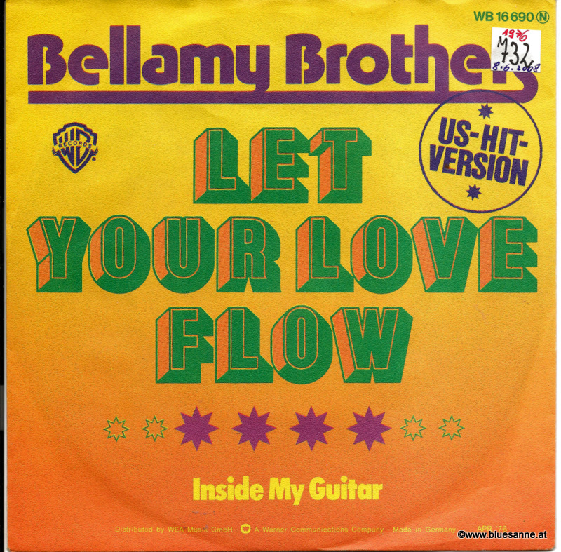 Bellamy Brothers ‎– Let Your Love Flow 1976
