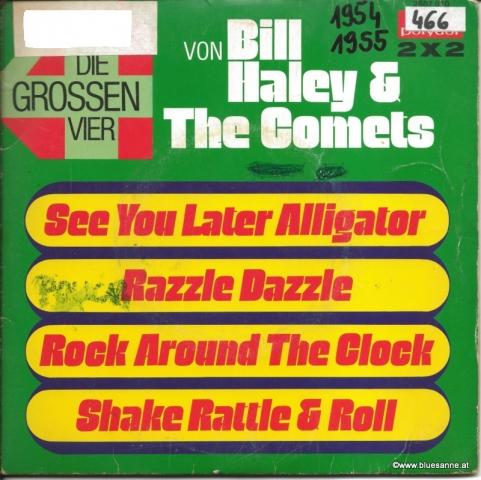 Bill Haley & The Comets - Die großen Vier 1975(1954/1955