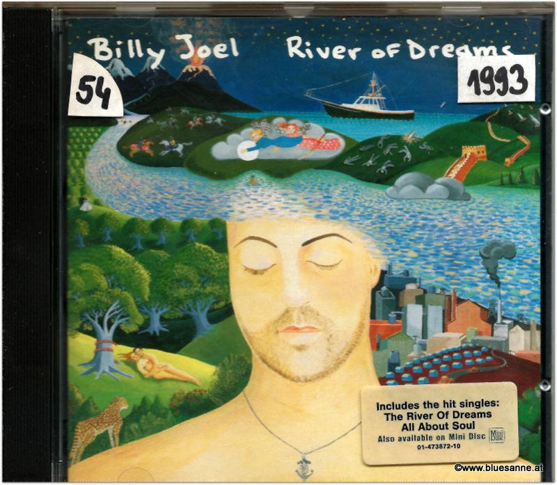 Billy Joel River of dreams 1993 CD