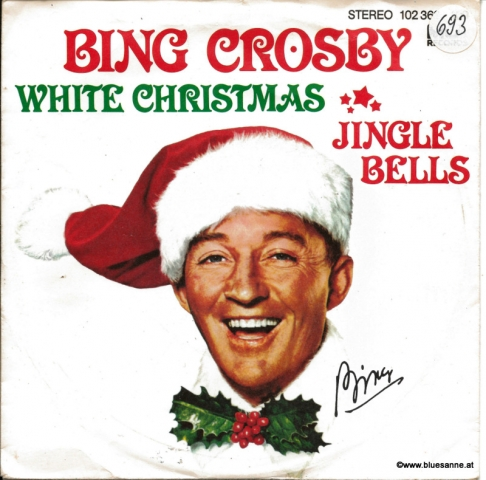 Bing Crosby ‎– White Christmas Jingle Bells 1980