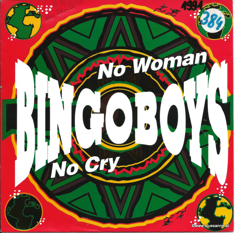 Bingoboys ‎– No Woman No Cry 1991