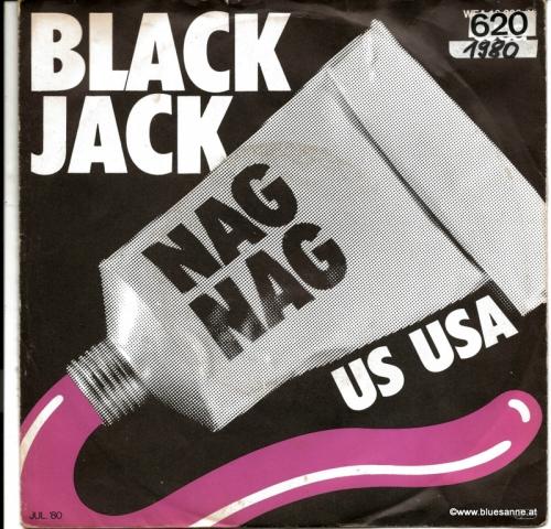 Black Jack – Nag Nag  1980 Single