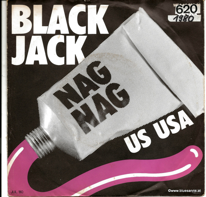 Black Jack ‎– Nag Nag  1980 Single