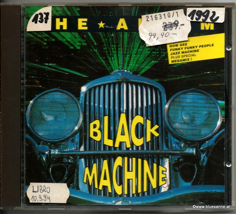 Black Machine – The Album 1992 CD