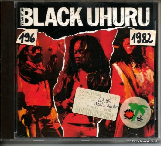 Black Uhuru – Tear It Up 1982 CD
