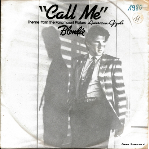 Blondie Call me 1980 Single