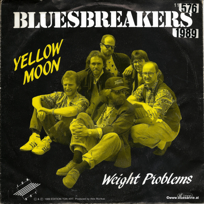 Bluesbreakers ‎– Yellow Moon 1989