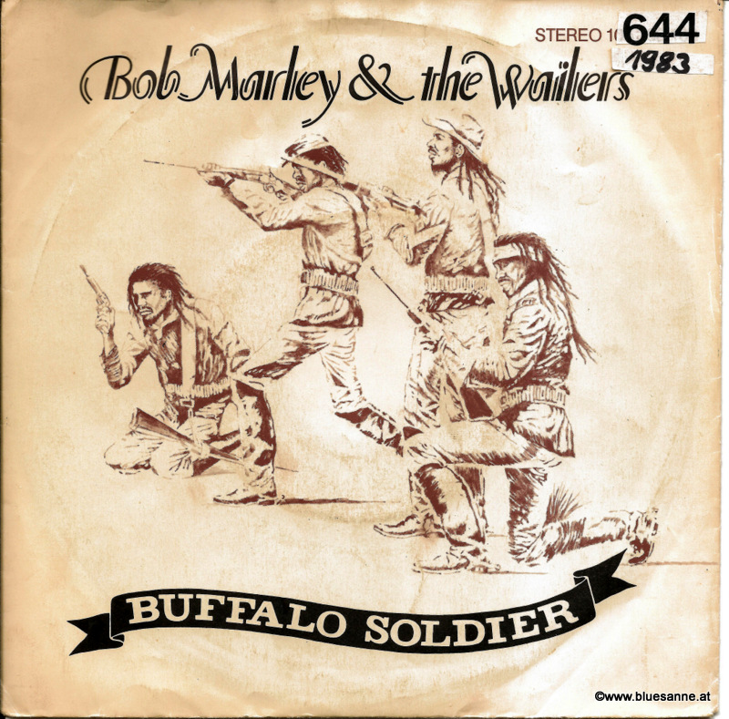 Bob Marley Buffalo Soldier 1983 Single
