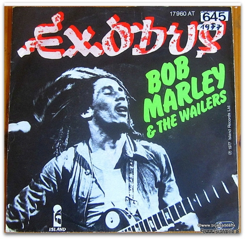Bob Marley Exodus 1977 Single
