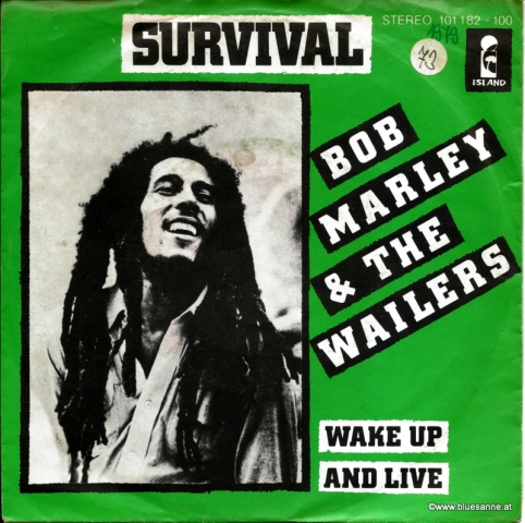 Bob Marley Survival 1979 Single