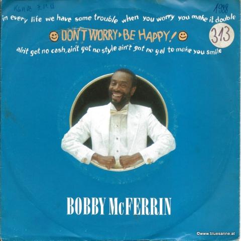 Bobby McFerrin – Dont Worry Be Happy! 1988 Single