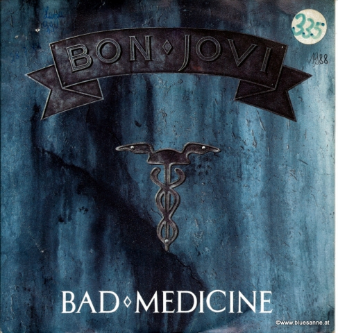 Bon Jovi Bad Medicine 1988 Single