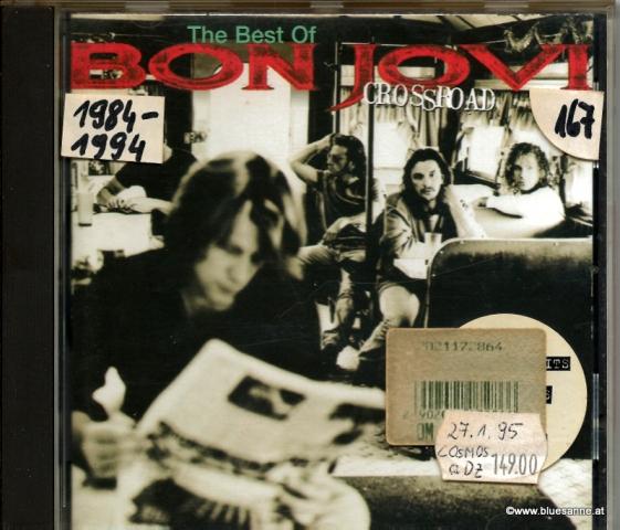 Bon Jovi The Best of  Crossroad 1994 CD