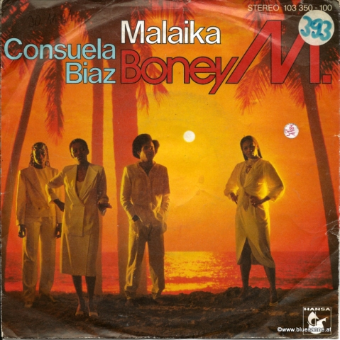 Boney M. – Malaika / Consuela Biaz 1981