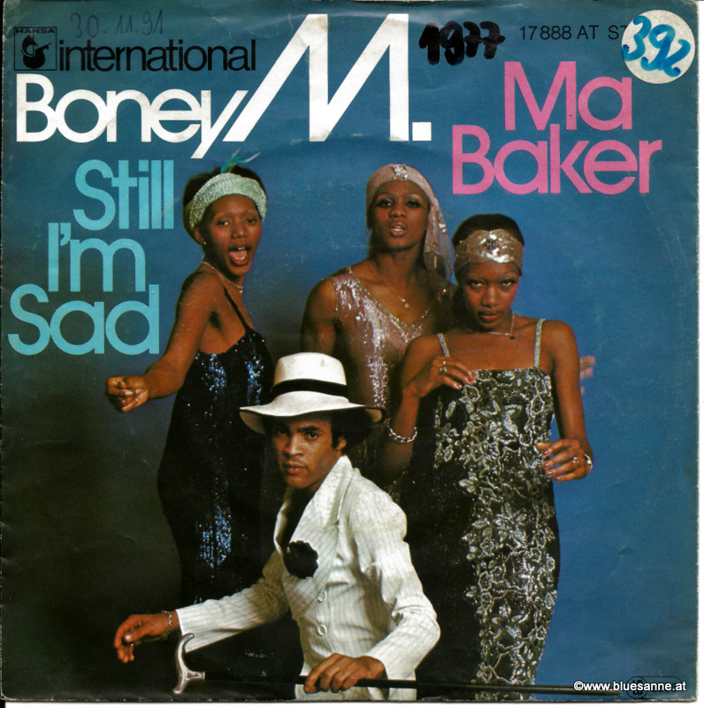 Boney M. ‎– Ma Baker / Still I´m Sad 1977