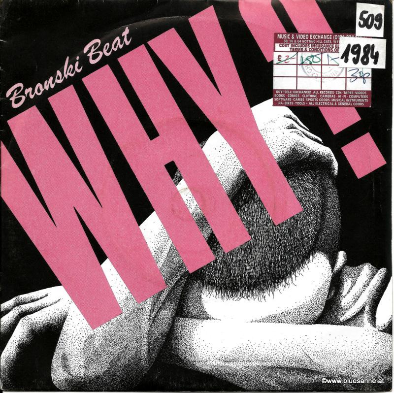 Bronsky Beat Why 1984 Single