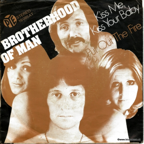 Brotherhood Of Man Kiss me, kiss your Baby 1975 Single