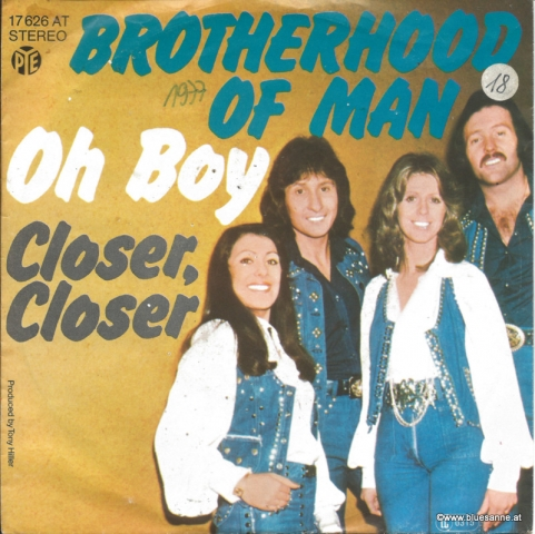Brotherhood of Man - Oh Boy 1977