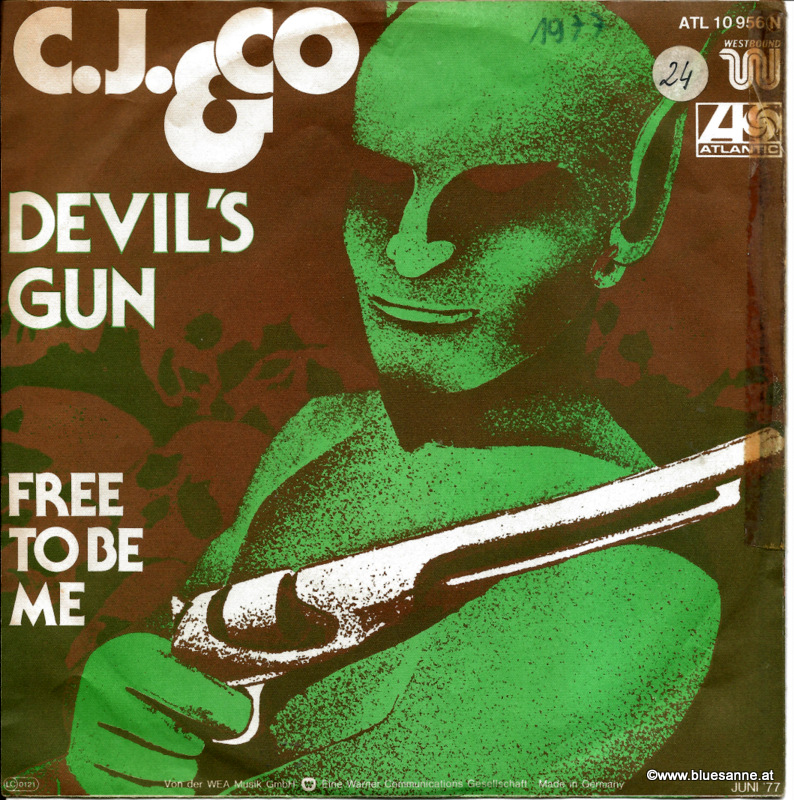 C.J. & Co ‎– Devil;s Gun 1977