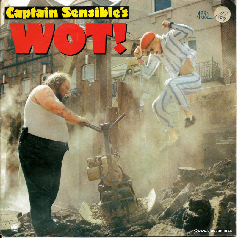 Captain Sensible ‎– Wot! 1982