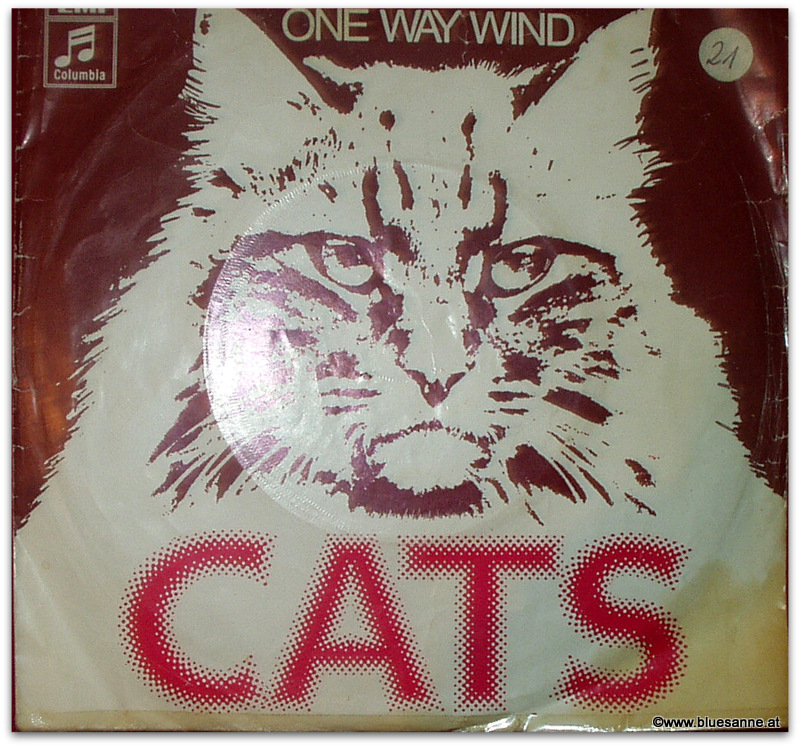 Cats On way wind 1977 Single