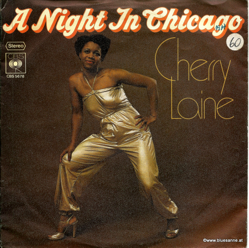 Cherry Laine ‎– A Night In Chicago 1977 Single