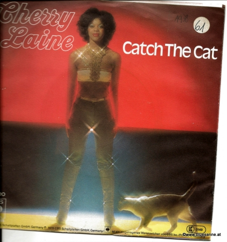 Cherry Laine ‎– Catch The Cat 1978 Single