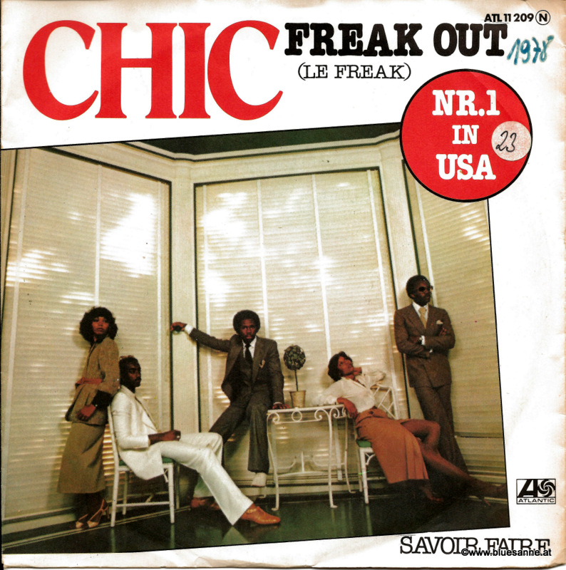 Chic ‎– Le Freak 1978