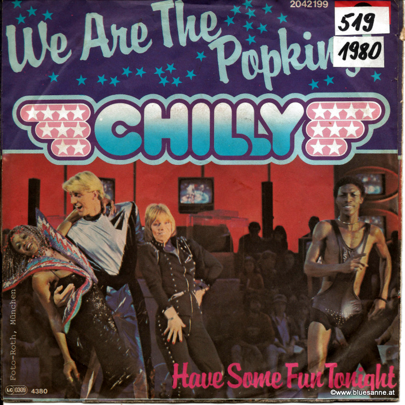 Chilly ‎– We Are The Popkings 1980