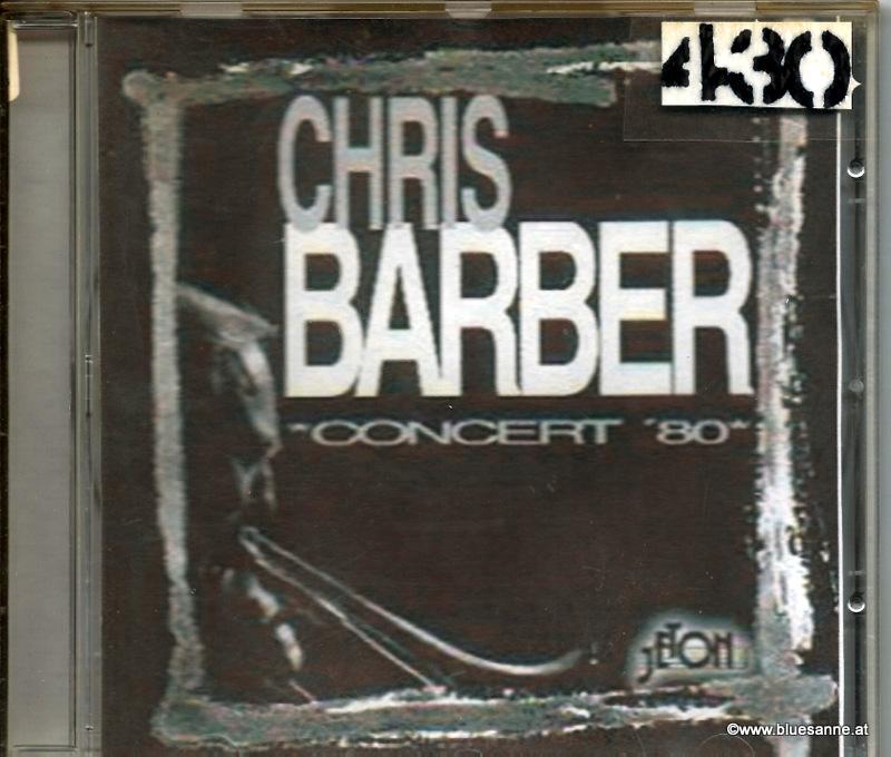 Chris Barber Concert 80 CD
