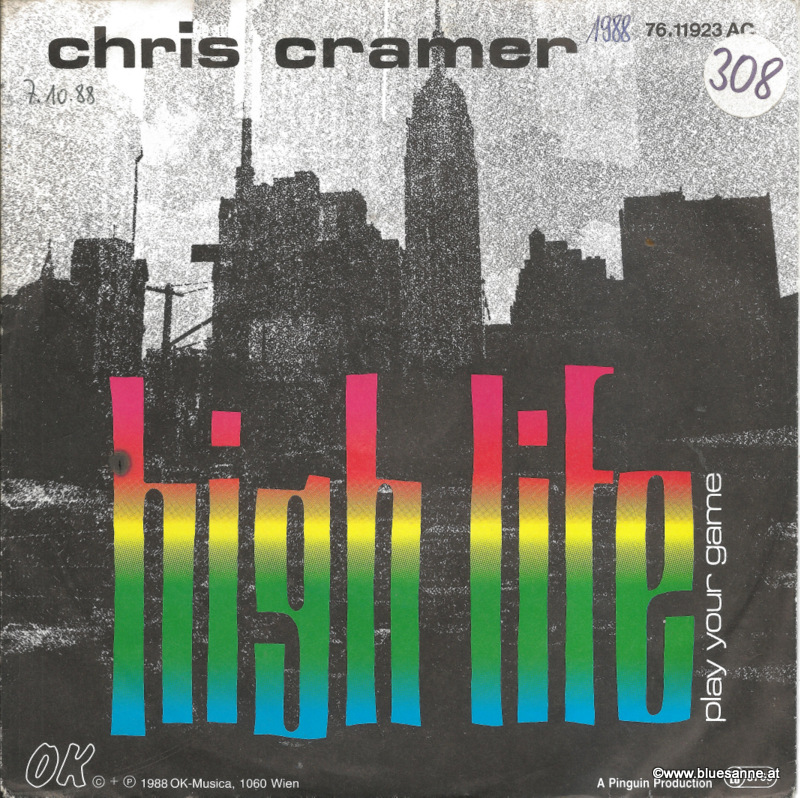 Chris Cramer ‎– High Life 1988