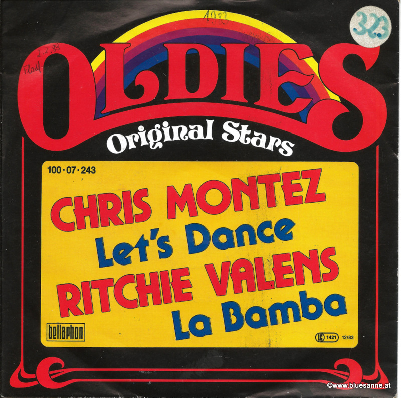 Chris Montez, Ritchie Valens ‎– Let;s Dance La Bamba Single
