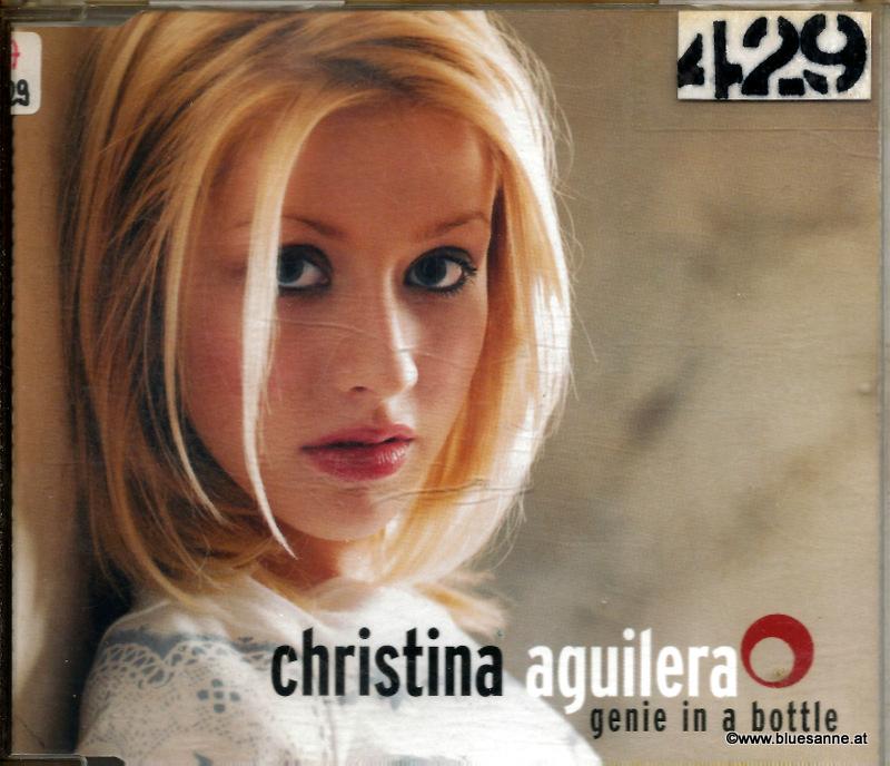 Christina Aguilera – Genie In A Bottle 1999 CD-Single