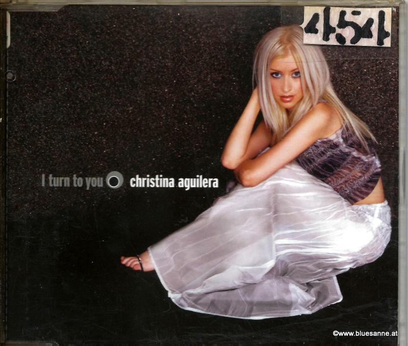 Christina Aguilera – I Turn To You 2000 CD-Single