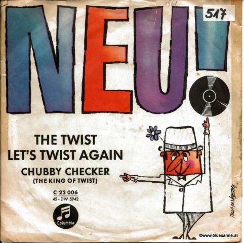 Chubby Checker – Let;s Twist Again 1962